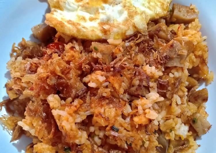 Resep: Nasi goreng terasi udang khas Tuban