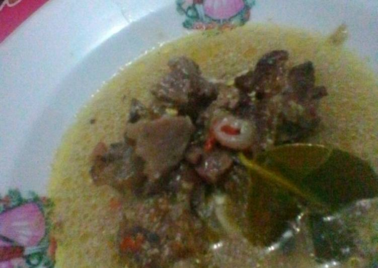 Cara Mudah memasak Becek (khas tuban) #festivalresepAsia #indonesia #dagingkambing