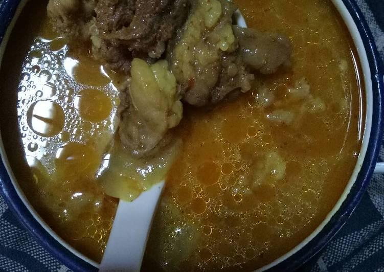 Resep: Becek daging kambing khas Tuban #KitaBerbagi