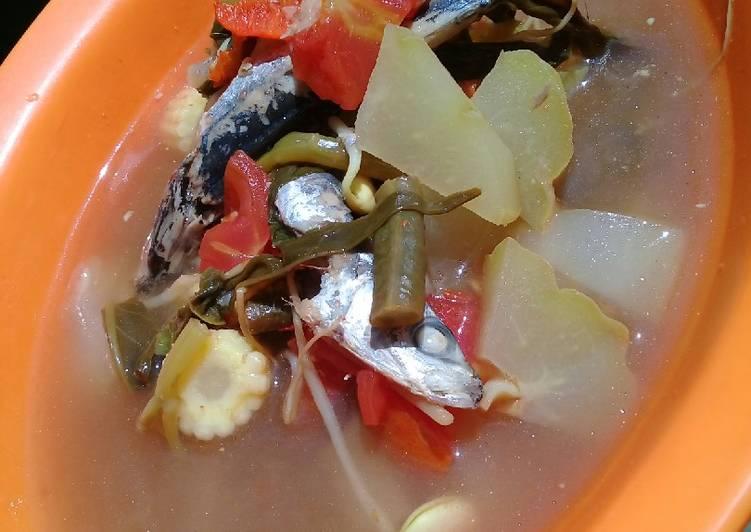 Resep membuat Sayur asem ikan pindang lezat