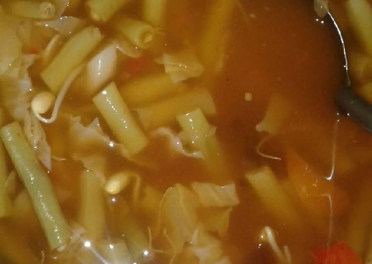 Cara membuat Sayur Asem pedas