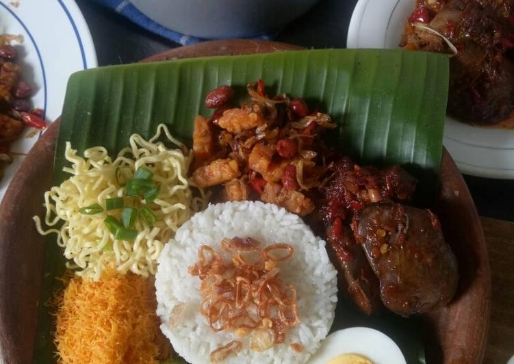 Resep memasak Nasi lemak magic com