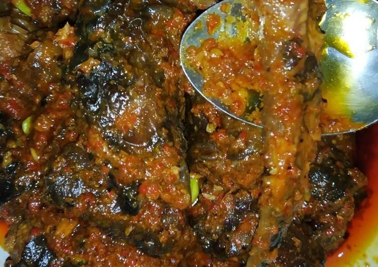 Resep: Sambal belut pedas