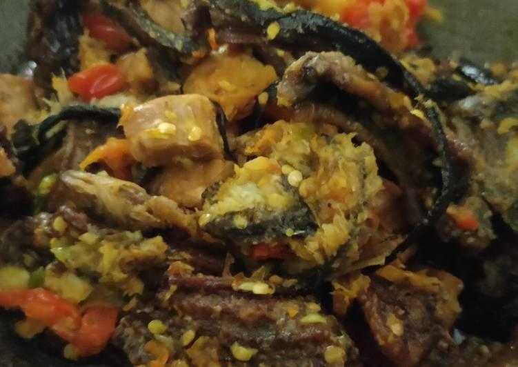 Resep mengolah Sambel belut plus tempe istimewa