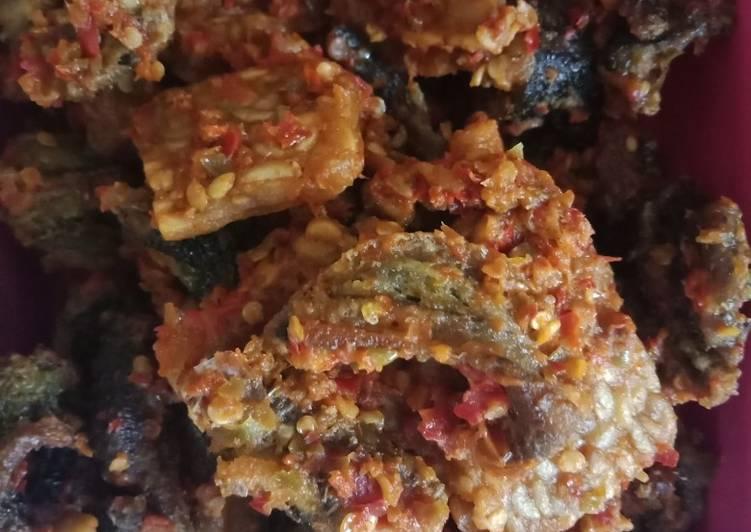 Resep membuat Sambal belut dan tempe