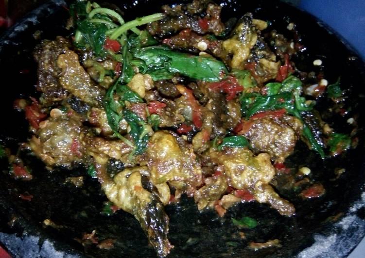 Resep: Sambel belut