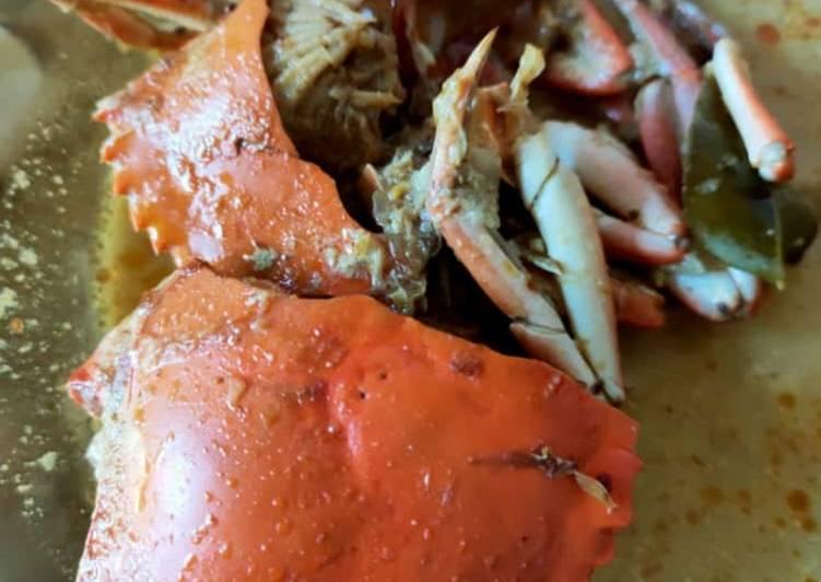 Cara Mudah membuat Kepiting kuah kare