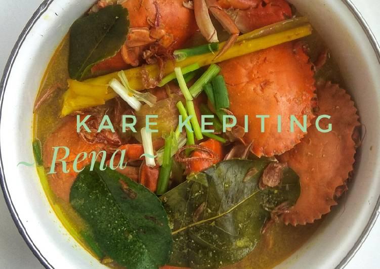 Cara Mudah memasak Kare kepiting