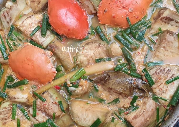 Cara Mudah membuat Kare kepiting terong