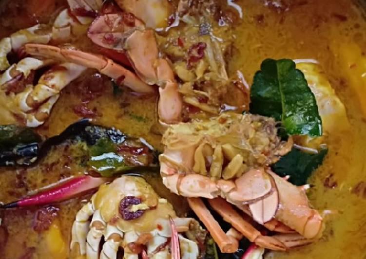 Cara membuat Kare kepiting enak