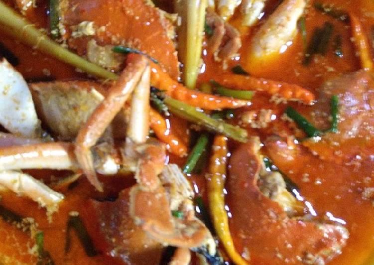 Resep mengolah Kare kepiting