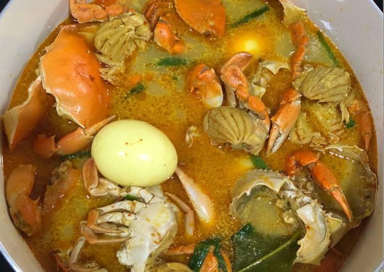 Cara memasak Kare kepiting pedas
