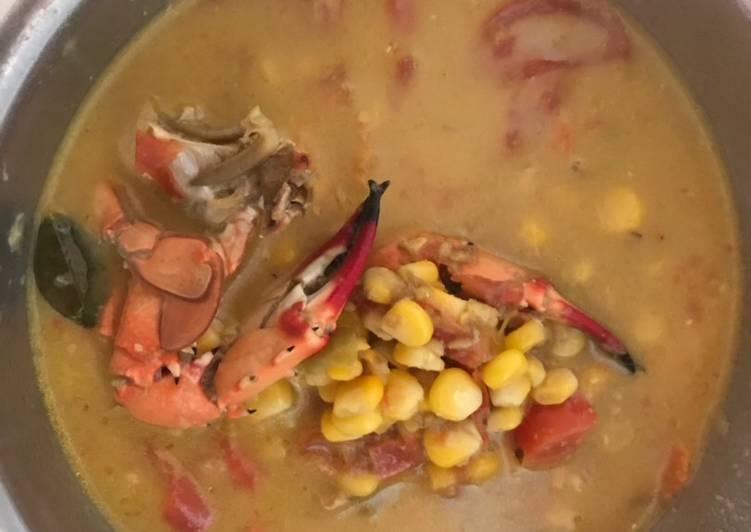 Cara membuat Kare kepiting jagung