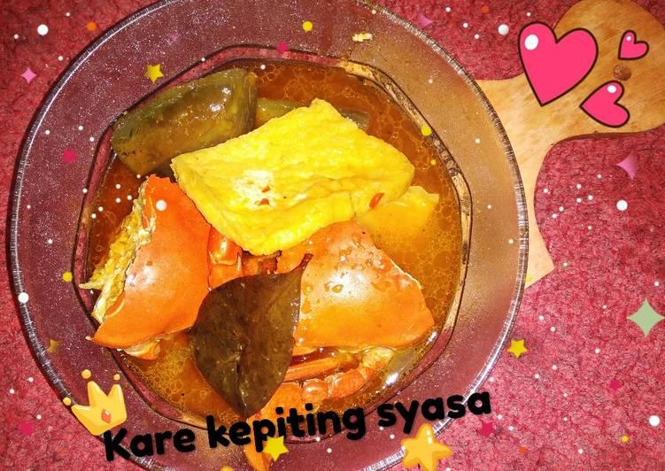 Resep: Kare kepiting NO santan