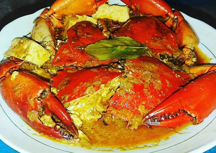Resep memasak Kari kepiting