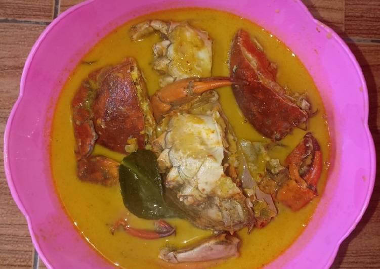 Resep: Kari kepiting pedas