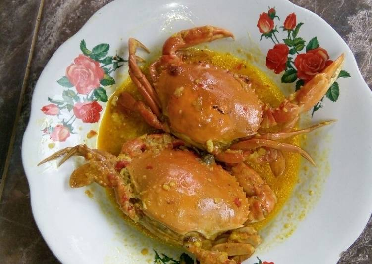 Kepiting bumbu kari Simple