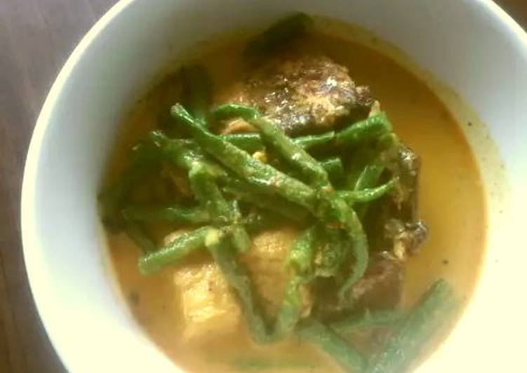 Cara membuat Mangut iwak pee(pari) enak