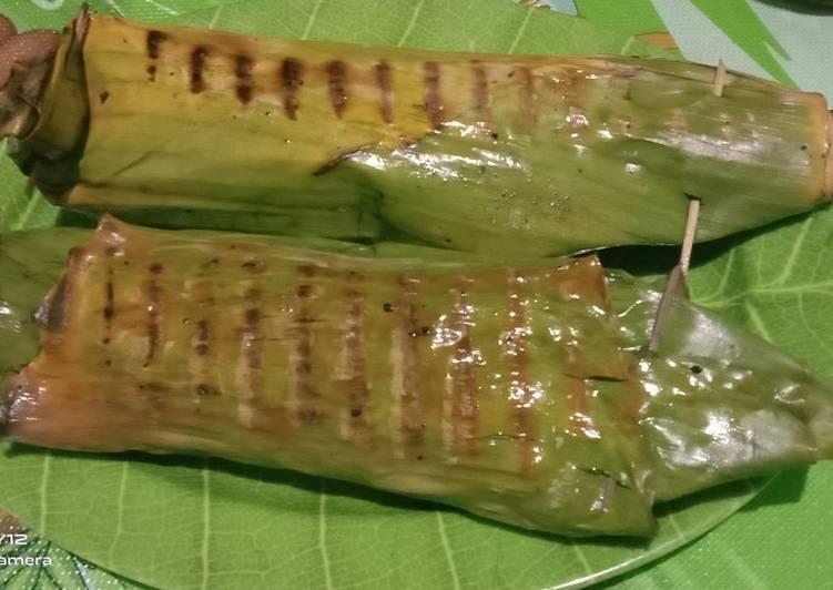 Resep: Nasi jagung bakar cumi dower enak
