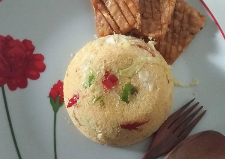 Nasi Jagung Goreng (Sego jagung jowo)