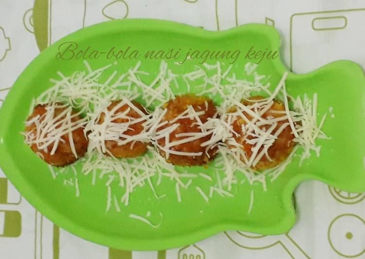 Resep: Bola-bola nasi jagung keju enak