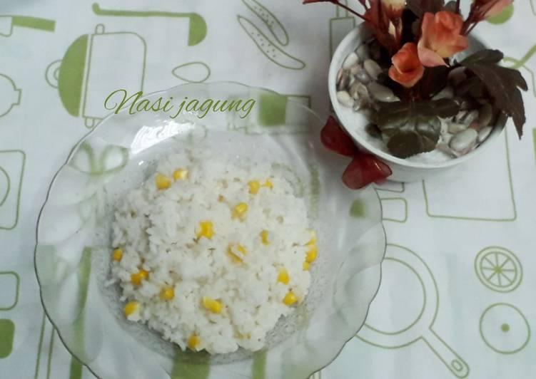 Resep: Nasi jagung
