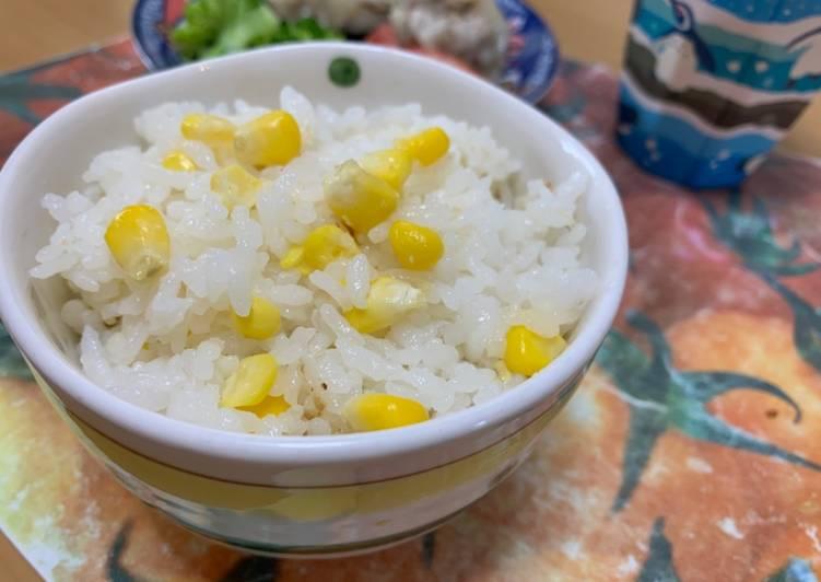 Nasi Jagung masak dengan Clay Pot