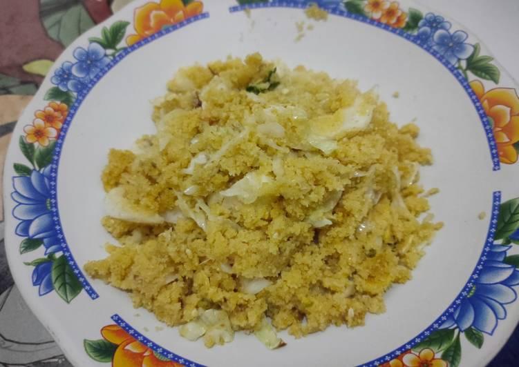 Resep: Nasi jagung goreng spesial enak