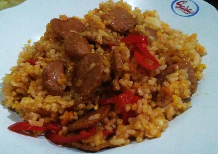 Resep: Nasi Jagung Goreng Pedas manis