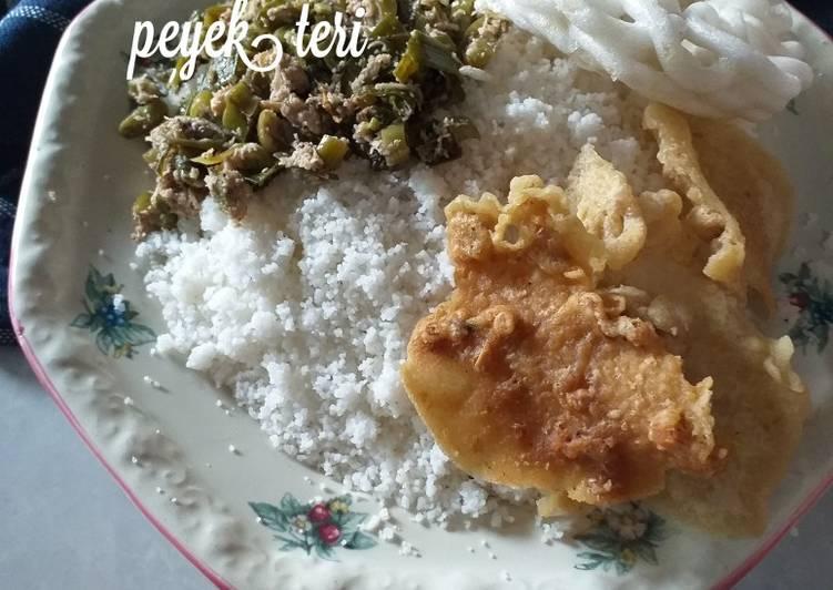 Cara mengolah Nasi jagung/brabuk istimewa