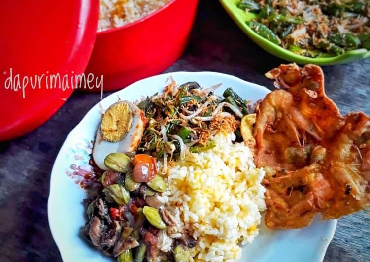 Cara Mudah memasak Nasi jagung