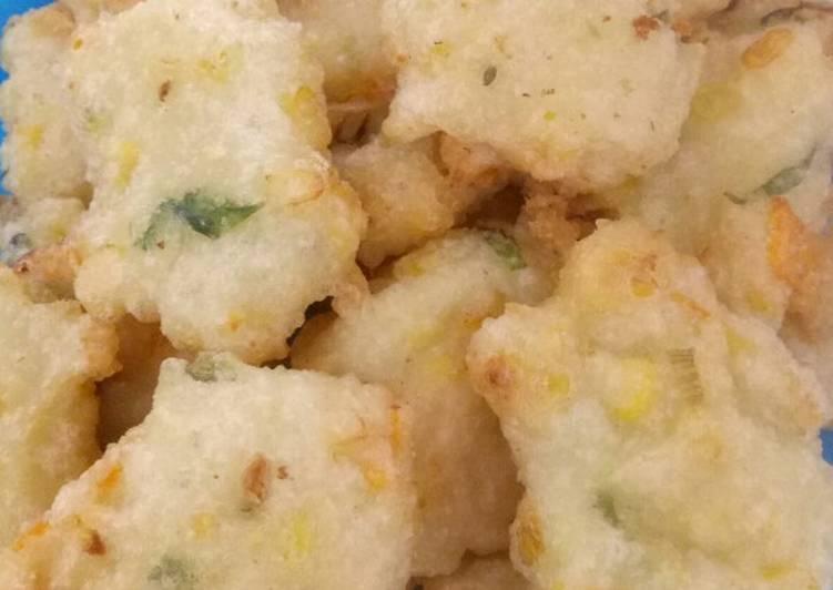 Cara Mudah memasak Cireng nasi jagung manis