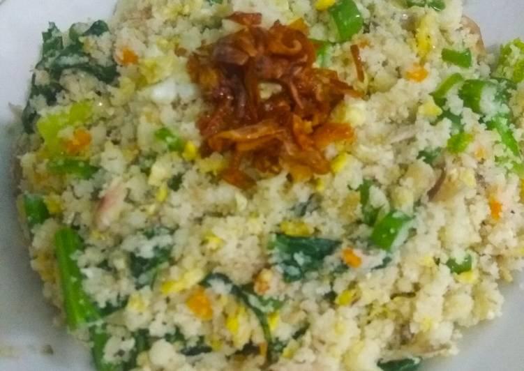 Cara memasak Nasi jagung goreng🌽