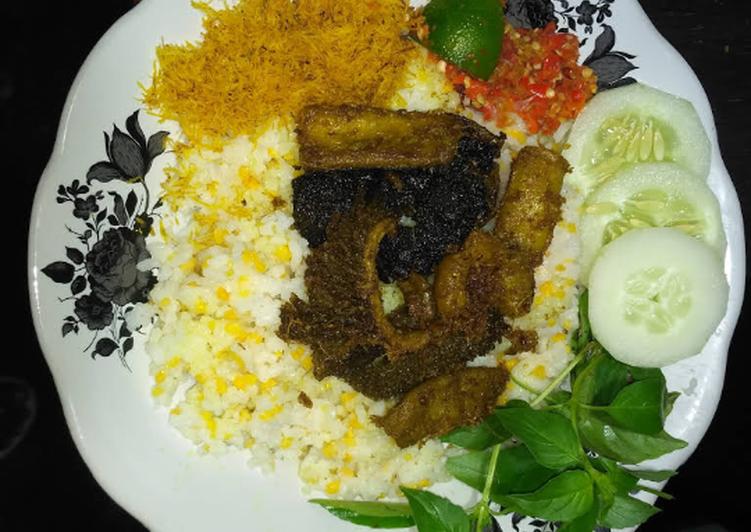 Resep: Nasi jagung babat usus istimewa