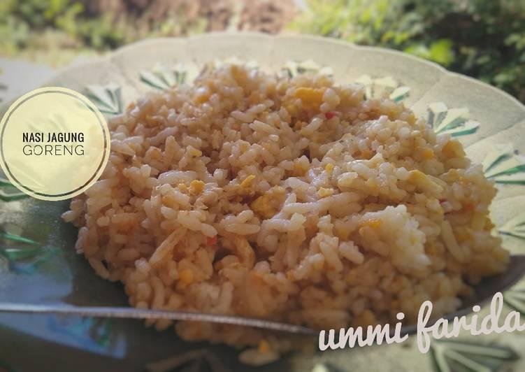 Resep: Nasi jagung goreng