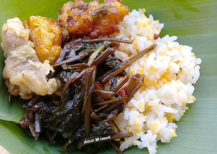 Cara membuat Nasi Jagung khas Madura