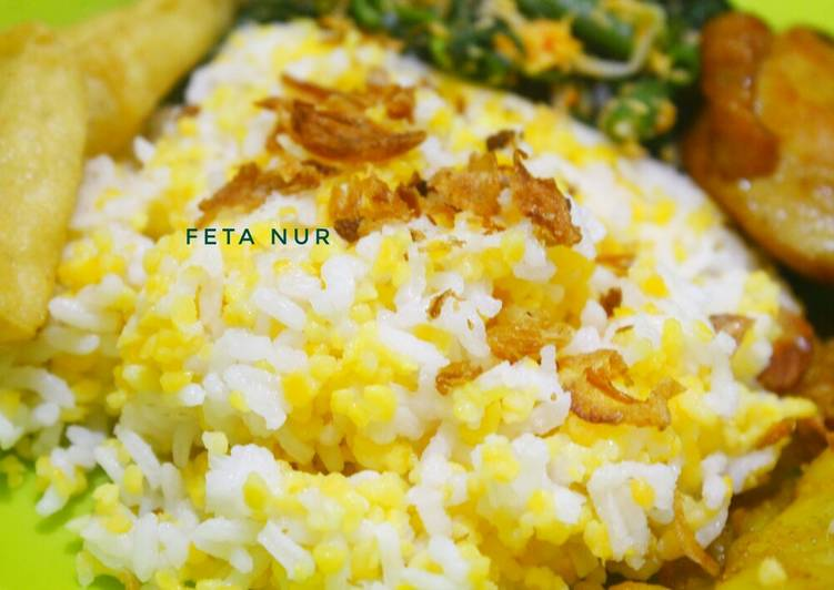 Resep memasak Nasi jagung magic com