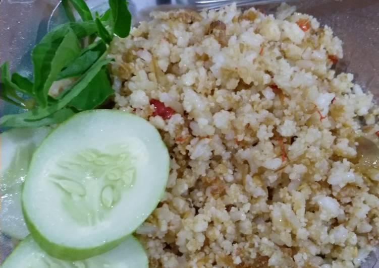 Cara membuat Nasi jagung goreng