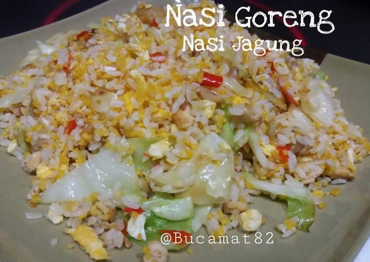 "Cara mengolah ""nasi goreng ~ nasi jagung"" istimewa"