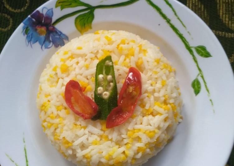 Resep: Nasi jagung enak