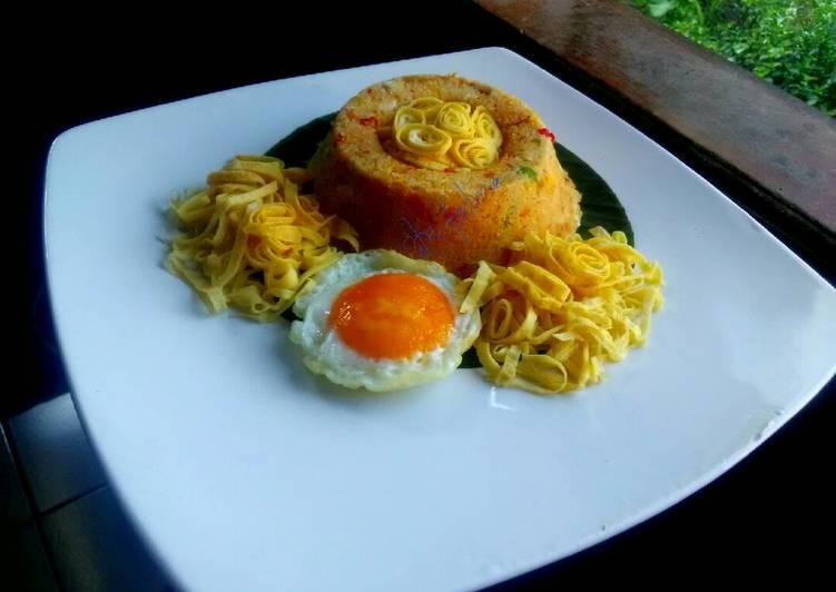 Resep: Nasi goreng(nasi jagung)