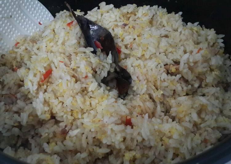 Resep: Nasi jagung liwet lemak dan teri