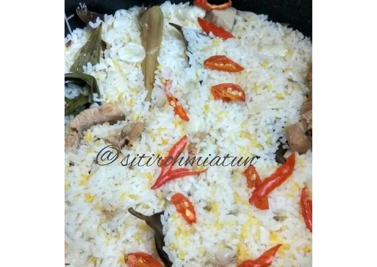 Resep: Nasi Jagung Liwet Rice cooker lezat