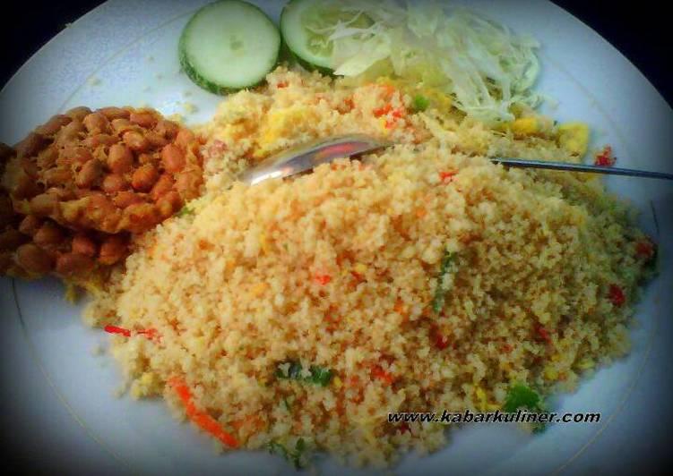 Resep mengolah Nasi jagung goreng