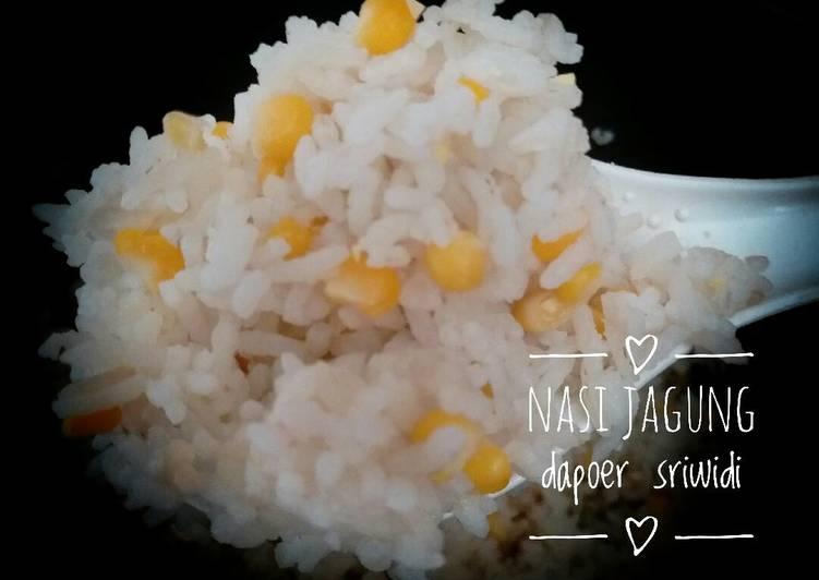 Cara Mudah membuat Nasi jagung #indonesiamemasak