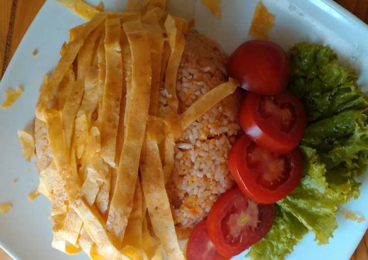 Resep: Nasgor nasi jagung