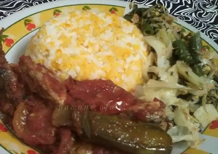 Resep: Nasi jagung lezat