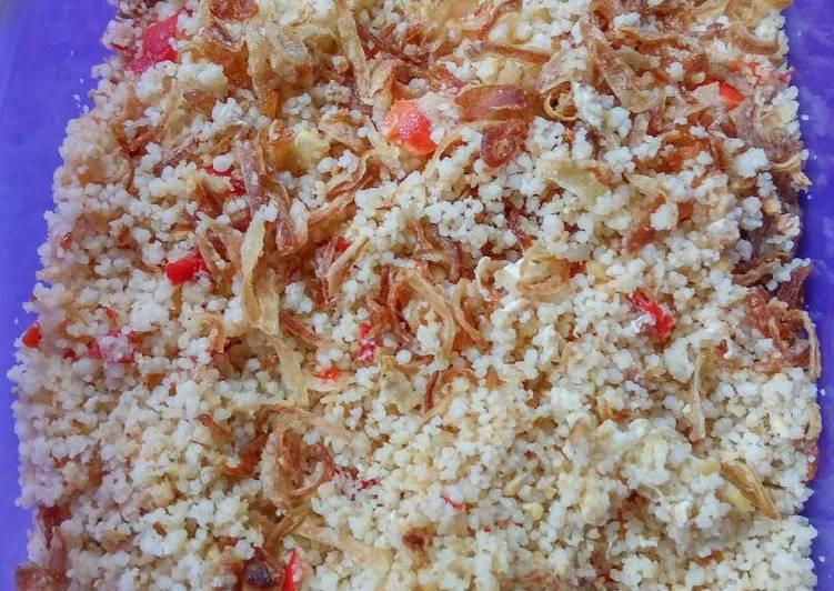 Resep memasak Nasi jagung goreng