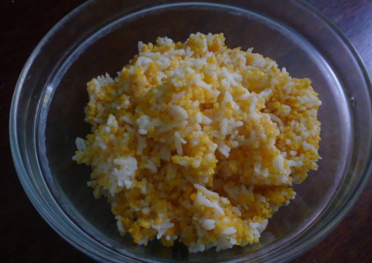 Cara membuat masak nasi jagung