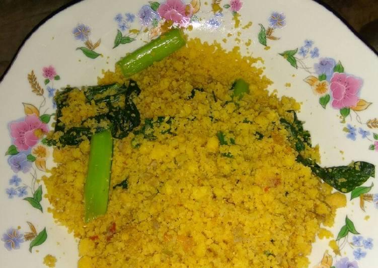 Resep: Nasi jagung goreng dadakan istimewa